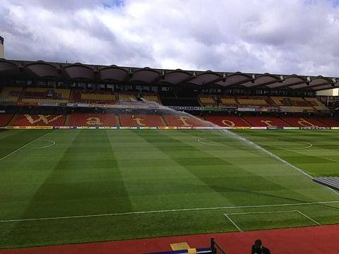 Discuss the action as Watford face Bristol City