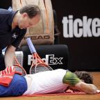 A back injury has ruled Andy Murray out of the French Open (AP)