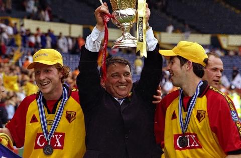 Graham Taylor was voted as Watford's greatest in the manager category. Picture: