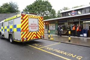 A woman who was hit by a train at Moor Park station this morning was pronounced dead at the scene...