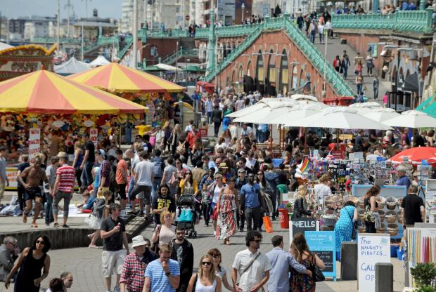 Watford Observer: Traders on Brighton beach will be hoping for similar summer scenes