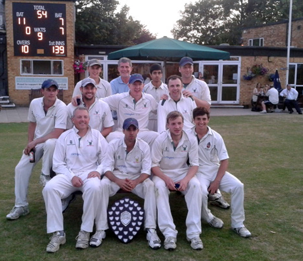 Defending Shield champions West Herts.