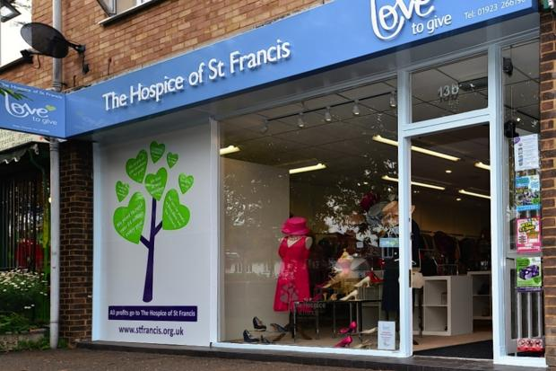 Hospice thanks customers for charity shop success