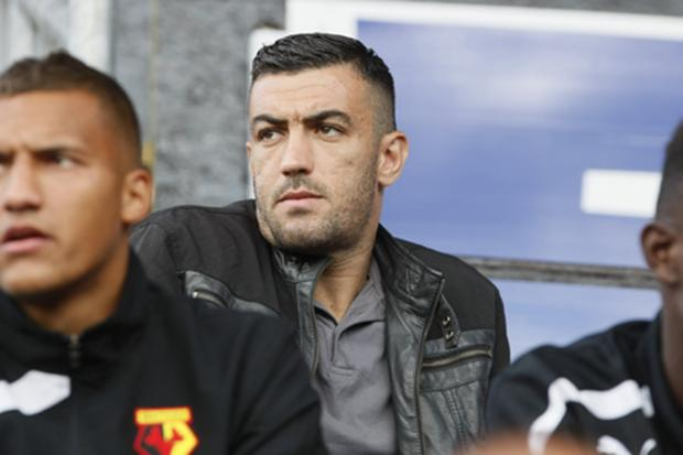 Watford Observer: Essaid Belkalem has been described as a humble and ambitious player. Picture: Holly Cant