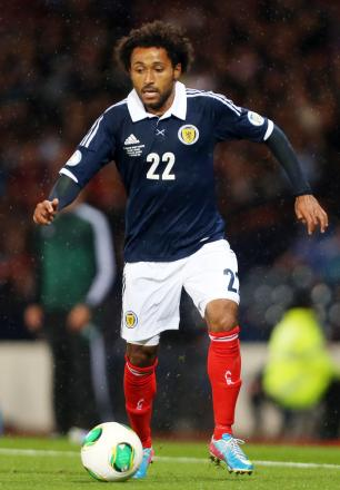Ikechi Anya has again been called up by Scotland. Picture: Action Images