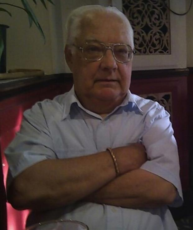Watford Observer: Jim Sweeney was born in Calcutta, India, in 1931 but came to England in 1949.