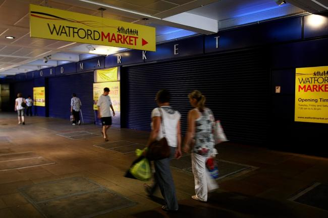 Watford Market is set to move from its current location in Charter Place.
