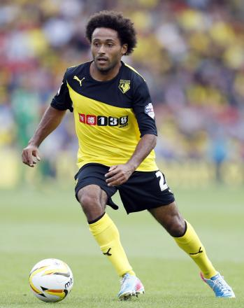 Ikechi Anya scored a superb solo goal for Watford. Picture: Action Images