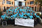 Hilton staff lend a hand in school DIY day