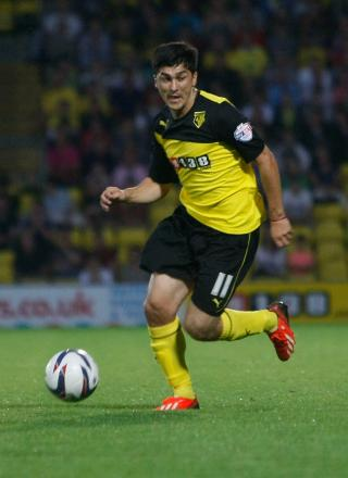 Fernando Forestieri is fit to face Millwall on Saturday. Picture: Holly Cant