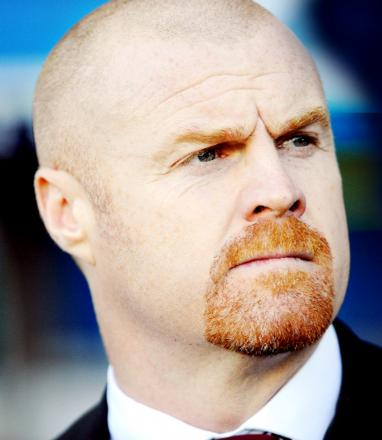 Burnley boss Sean Dyche has