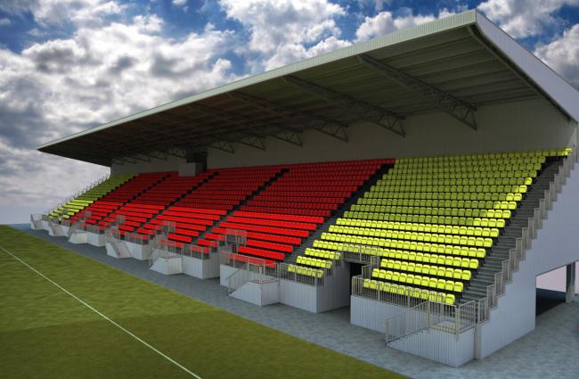 East Stand images released
