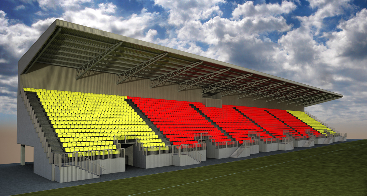 Watford Observer: East Stand 6