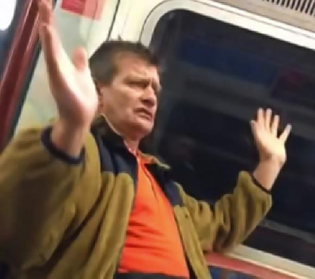 Carpenders Park racist Tube rant man jailed for six weeks