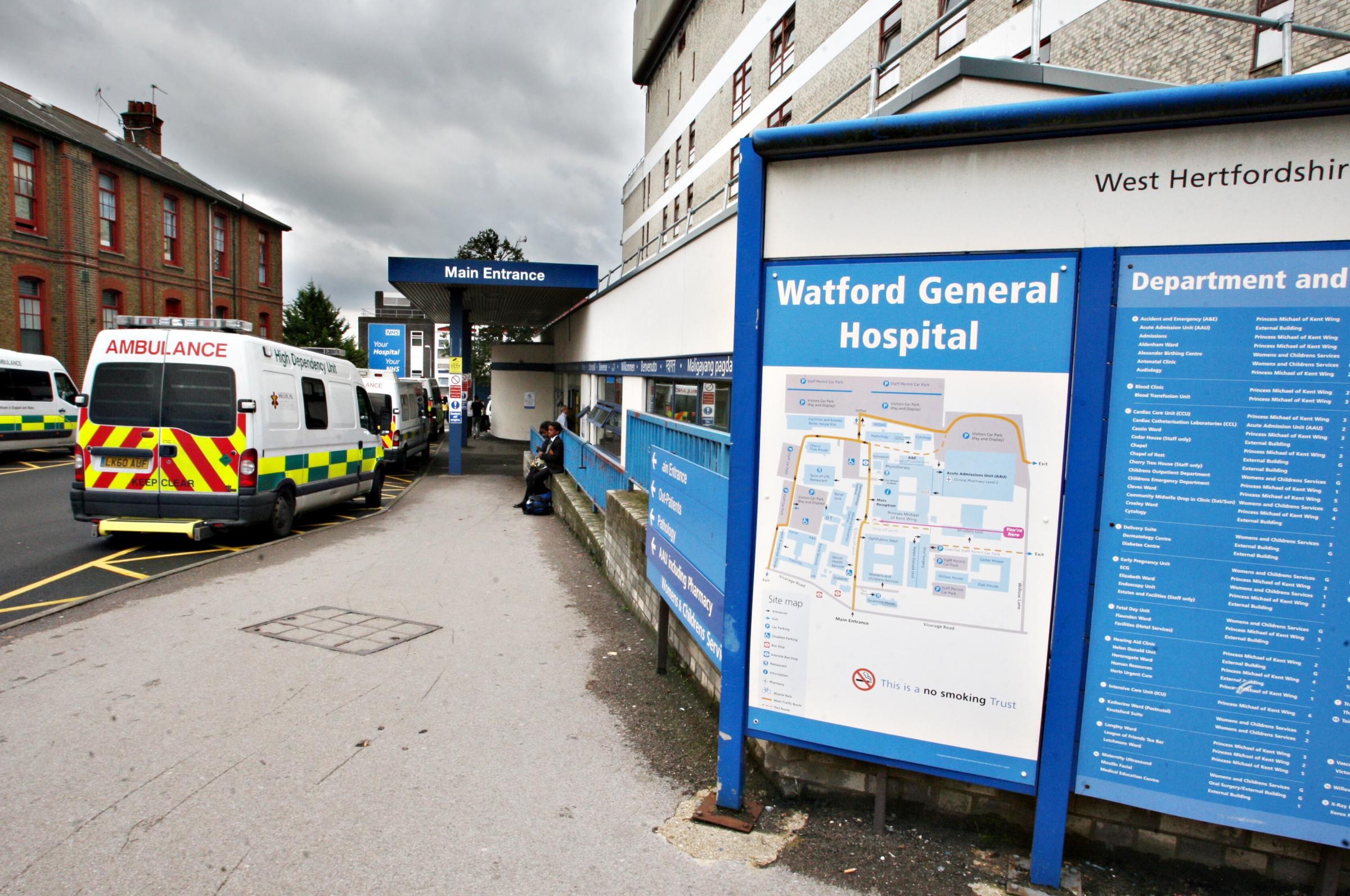 New hospital row: 'Watford General will undoubtedly be main site for A&E and maternity care'