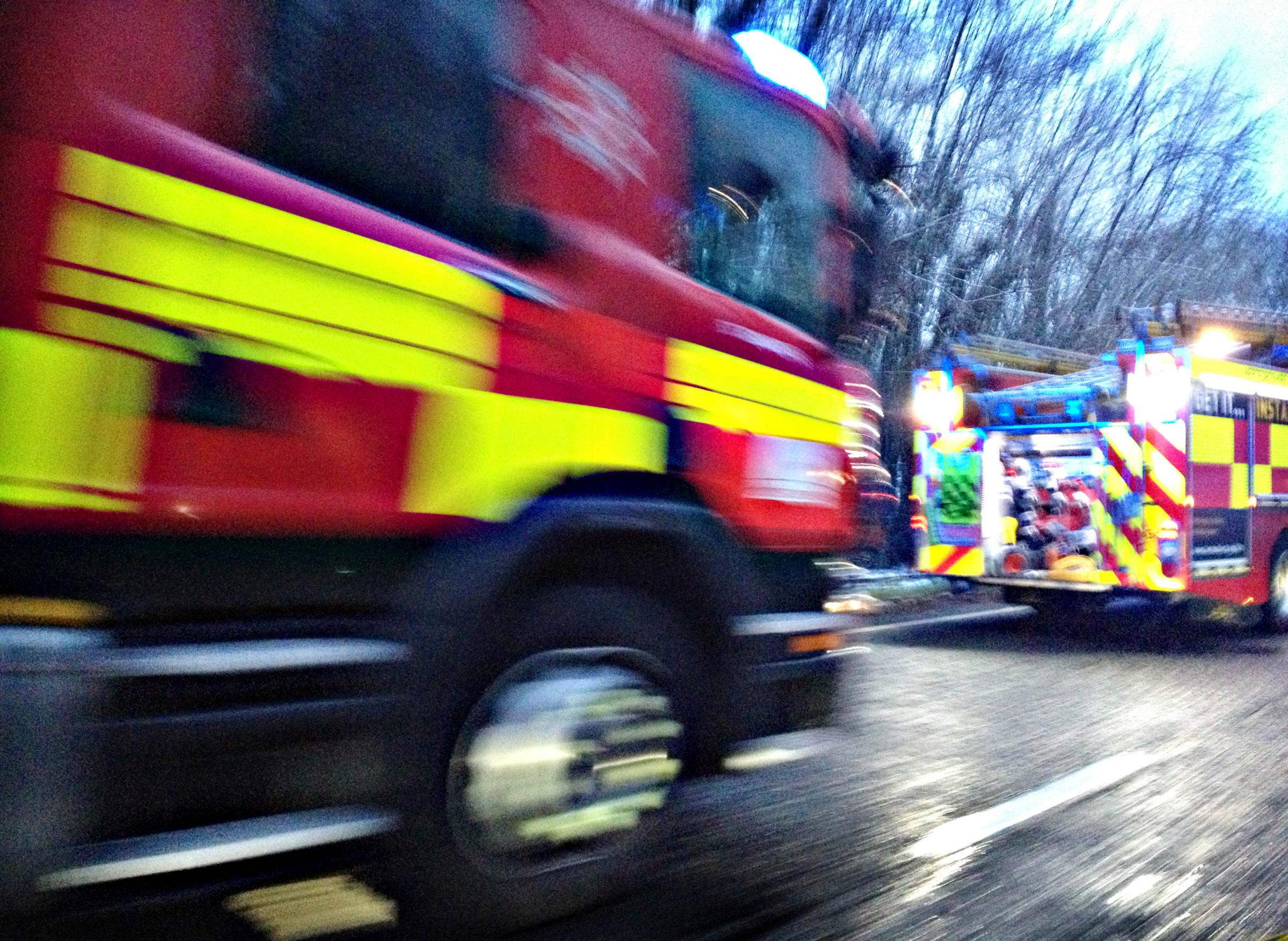Crews called to chip shop blaze