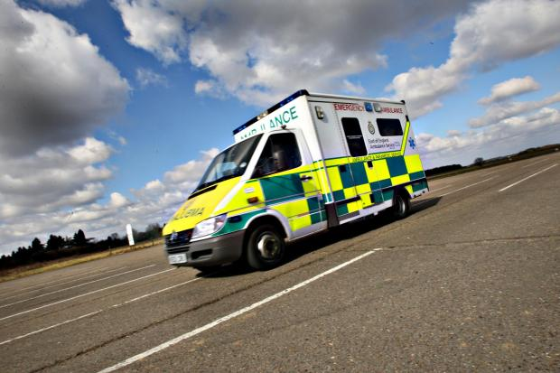 Watford Observer: Woman rushed to hospital after becoming impaled on fence.