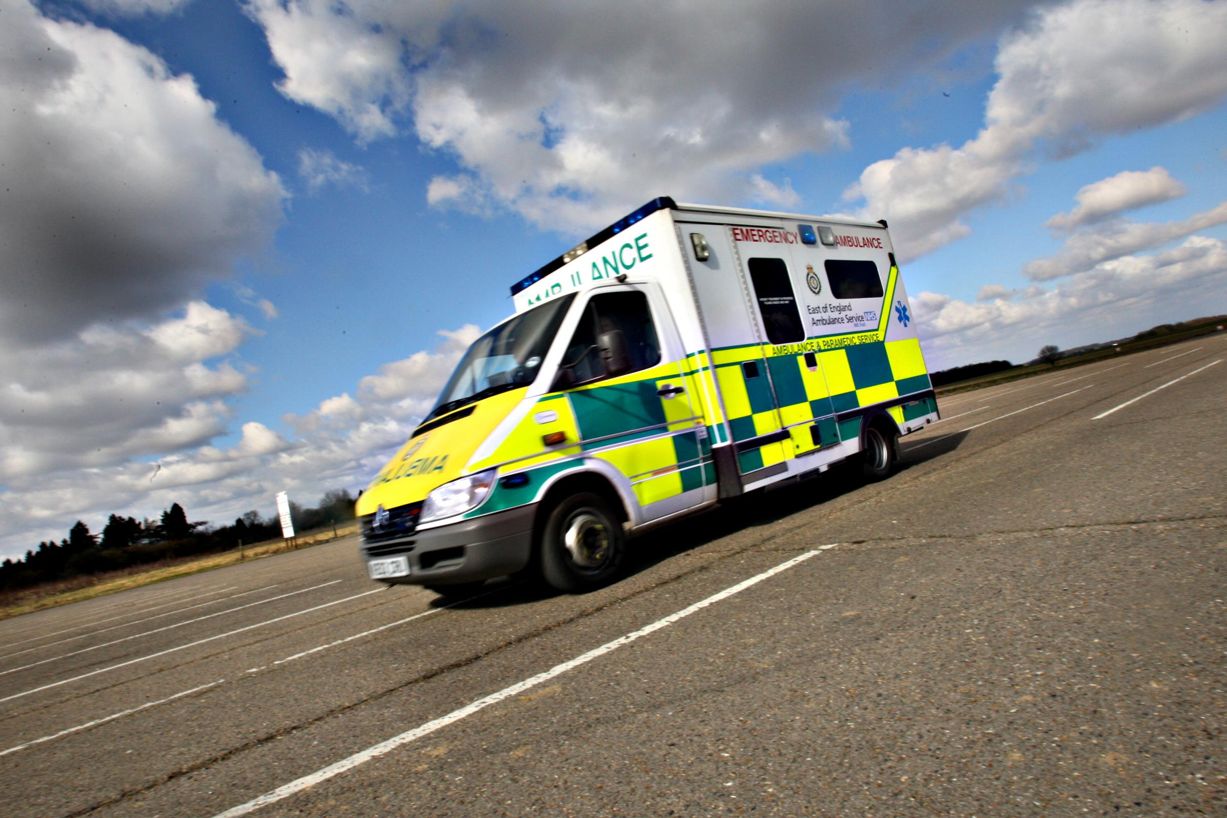 Increase in ambulance calls over Bank Holiday weekend