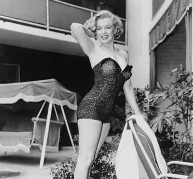 One of the pictures of Marilyn from the Frank Worth collection
