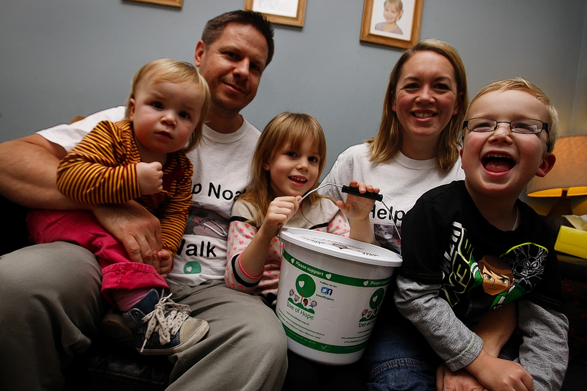 'Help Noah Walk' campaign raises £80,000 for life-changing operation