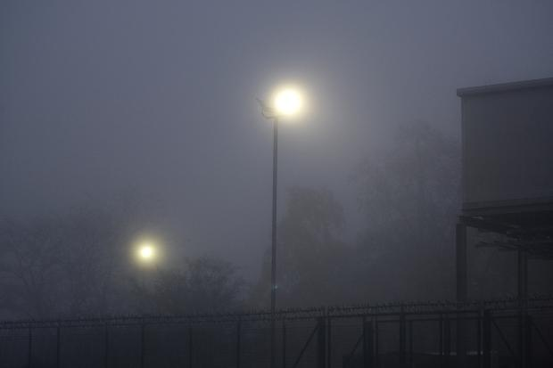 Fog warning issued