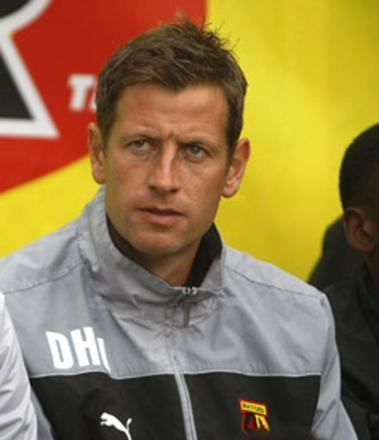 Watford Under-18s coach Dave Hughes. Picture: Holly Cant