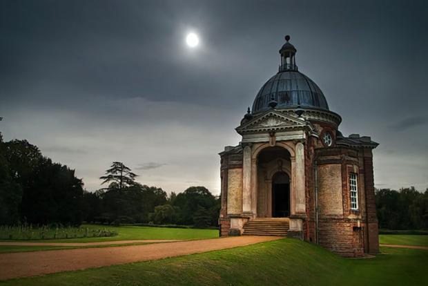 Robin Brown's winning shot of Wrest Park Banqueting House