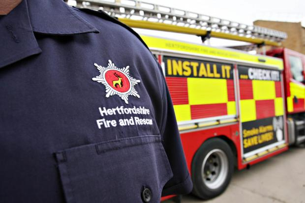 Firefighters come to rescue of woman locked in Croxley home