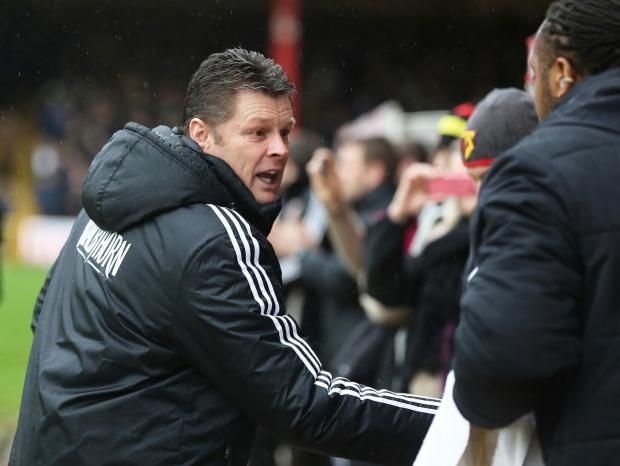 Bristol City manager Steve Cotterill praised Watford after the game. Picture: Action Images