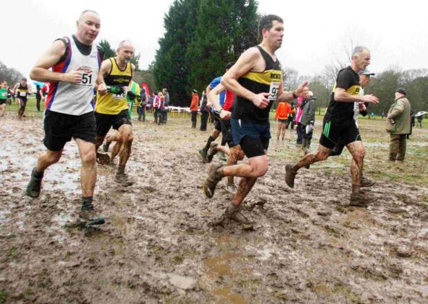Watford Joggers were active at the latest cross country match