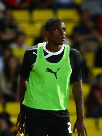 Uche Ikpeazu has yet to make his Watford debut. Picture: HOLLY CANT