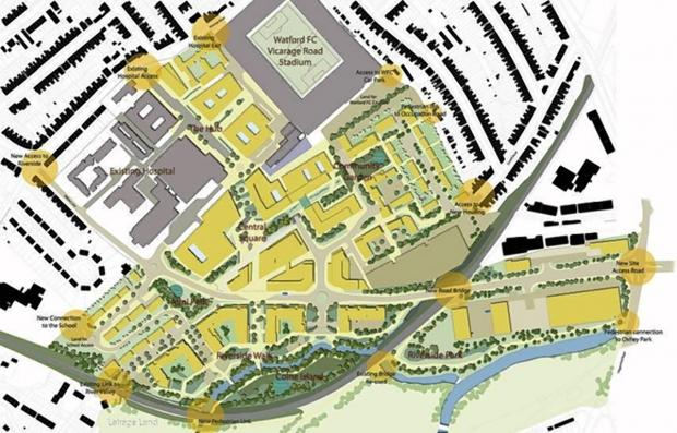 Have your say on health campus masterplan at launch tonight