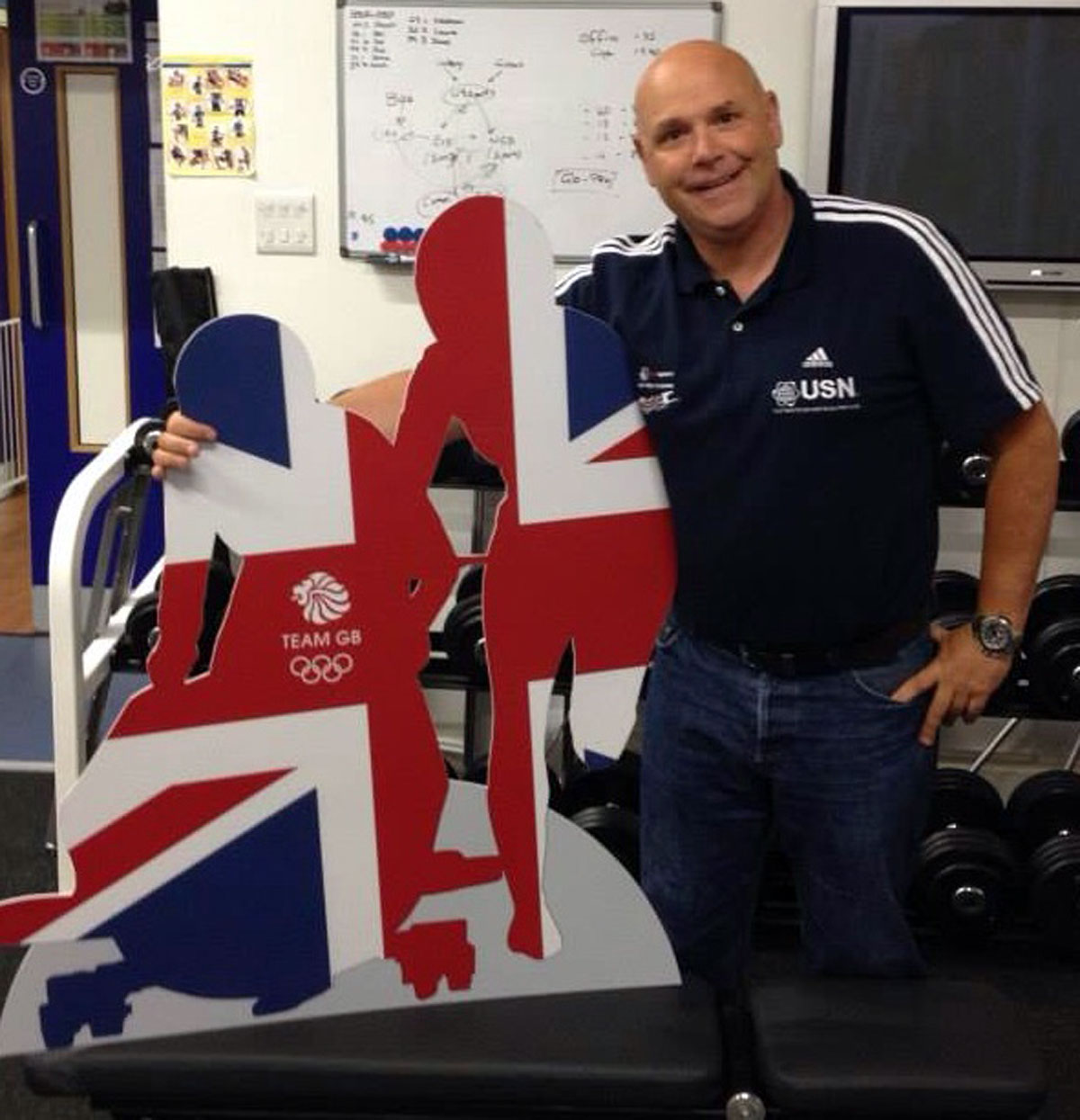 Great Britain bobsleigh performance director Gary Anderson.