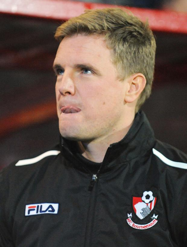 Watford Observer: Bournemouth manager Eddie Howe. Picture: Action Images