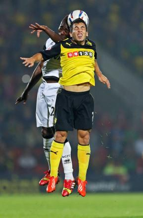 Cristian Battocchio started for Watford despite speculation he may be leaving on loan. Picture: Action Images