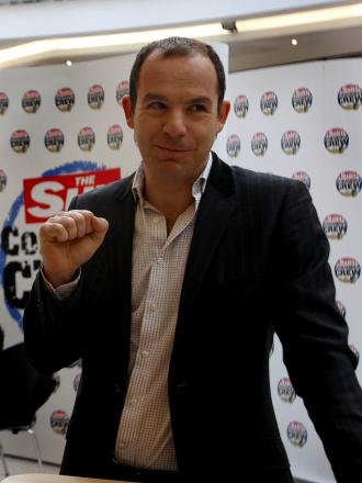 Money-saving expert Martin Lewis shares tips with shoppers