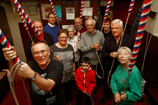 Bell ringers reach half way point for restoration funds
