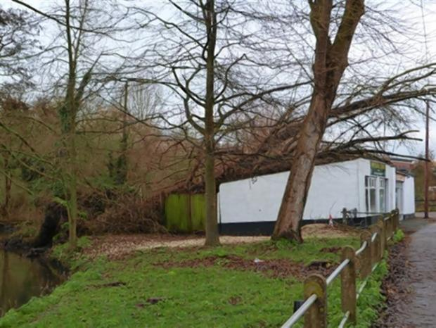 Abbots Langley property cleared of fallen tree