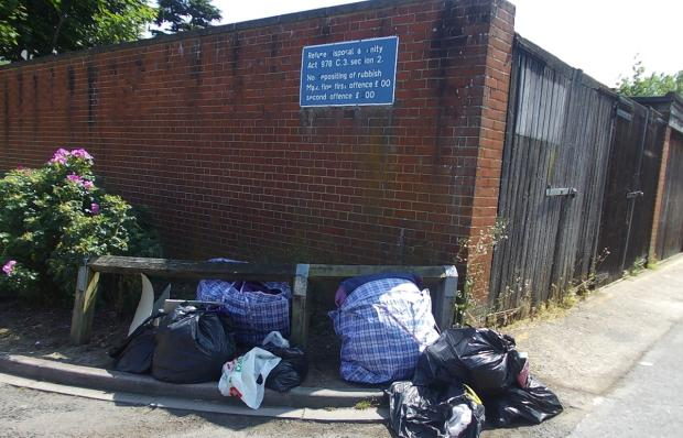 Watford Observer: Garston woman fined for fly-tipping
