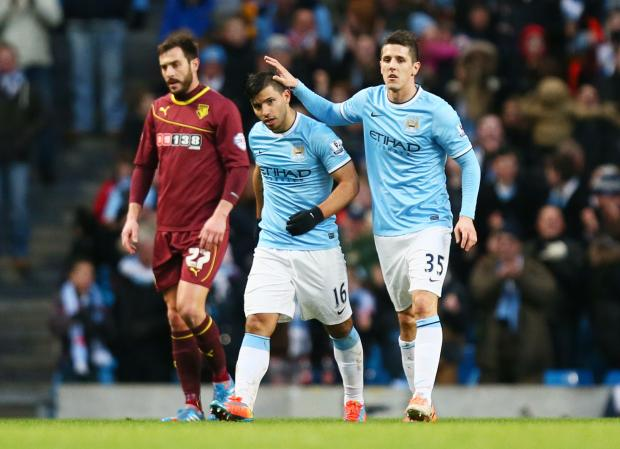 Stevan Jovetic is expected to make a positive impact during the second half of the season after injuries have hampered his start to life at City following his £22m move. Picture: Action Images