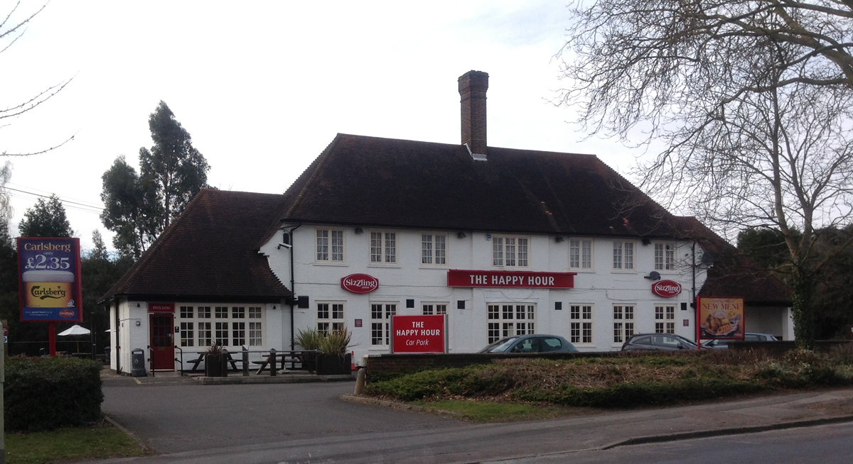 The Happy Hour pub i