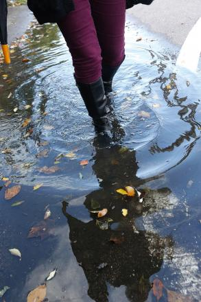 Flooding fears for Radlett