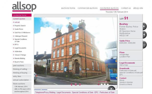 'Someone's been robbed' - police station appears on auction site for double price