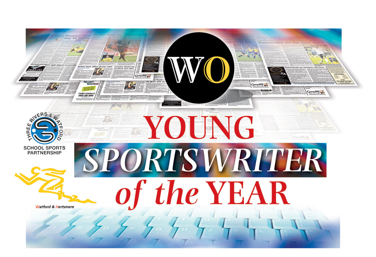 Young Sports Writer of the Year awards to be presented next month