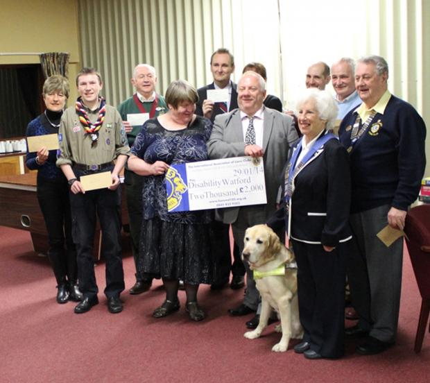 Charities get a boost from cash raised at firework display