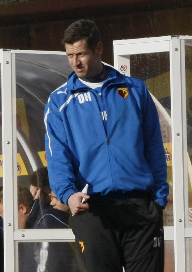 Watford Observer: Watford youth coach Dave Hughes. Picture: Holly Cant