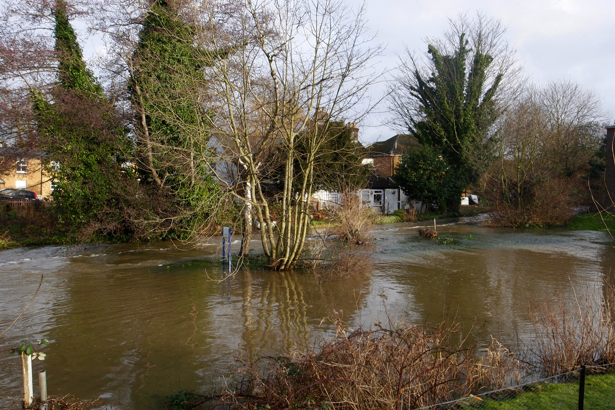 Video: Roads across south west Hertfordshire swamped after flooding