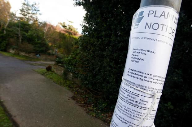 'Ludicrous' application to build four new homes in Radlett resubmitted