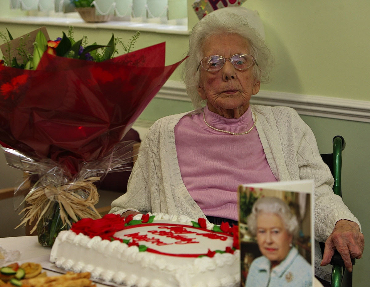 Croxley House care home Scrabble queen Winifred Phillips