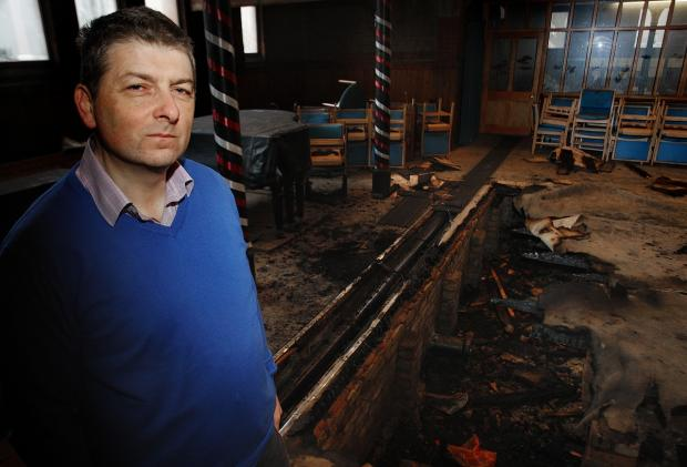 'I can't think who or why someone would do this' - upset after suspected arson at church